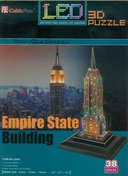 Puzzle 3D Led Empire State Building,