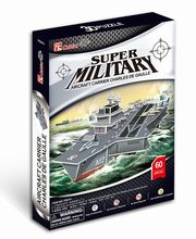 Puzzle 3D Aircraft Carrier Charles de Gaulle,
