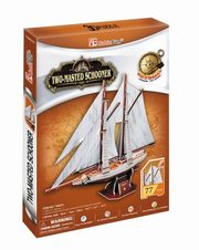 Puzzle 3D Two-Masted Schooner,