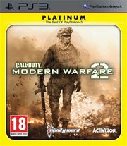 Call Of Duty: Modern Warfare 2 Platinum PS3,